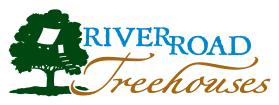 River Road Treehouses, featuring 6 Guadalupe River cabins