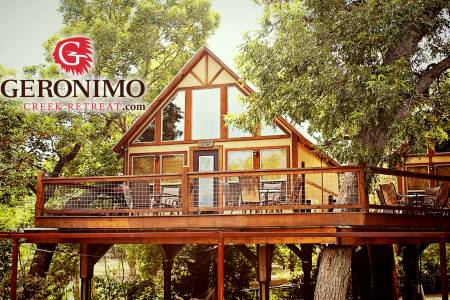 Geronimo Creek Retreat Treehouse Cabins, Featuring 20 New Braunfels Vacation Rentals