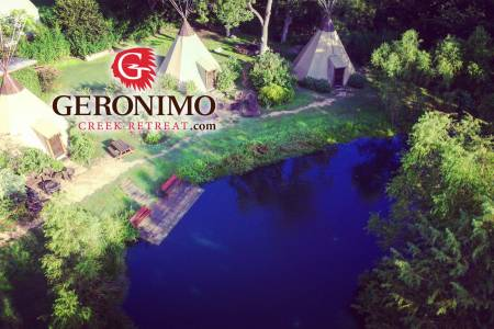 Geronimo Creek Retreat Teepees, Featuring 20 New Braunfels Vacation Rentals