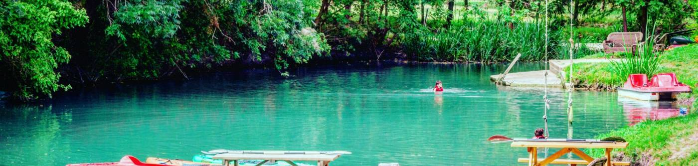 Geronimo Creek Retreat - Featuring 20 New Braunfels Vacation Rentals and New Braunfels waterfront vacation rentals